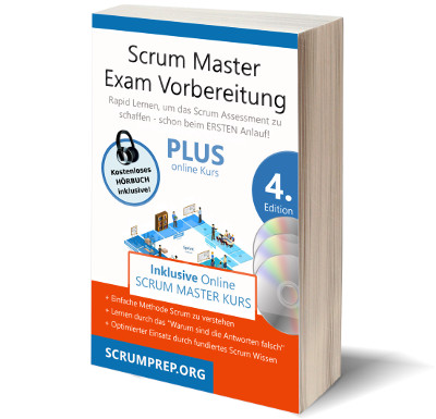 cover scrum master exam buch