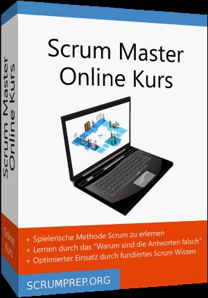 Scrum Master Online Kurs Packung