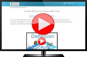 Videopreview Scrum Master Online Kurs